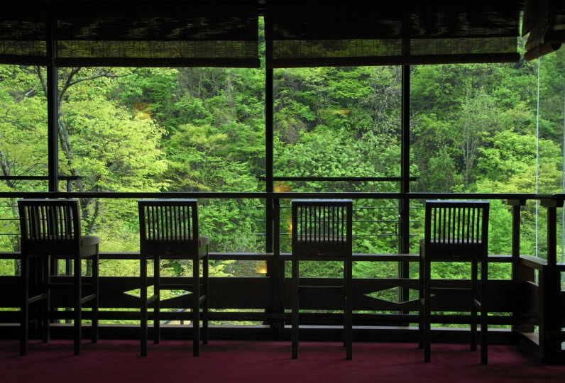 A lodge located in Matsukawa Gorge, Shinshu Yamada Onsen Yamadakan